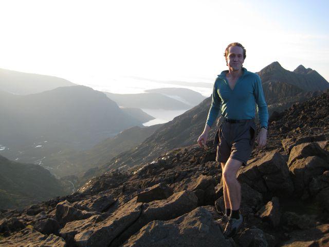 Jim near Bealach an Garbh Choire