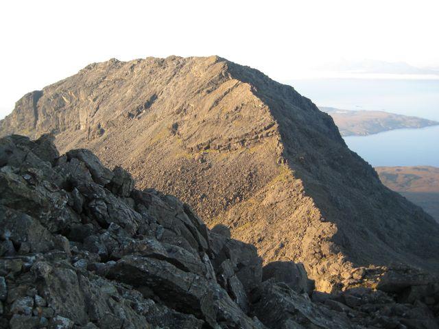 Skye ridge attempt August 2007 073
