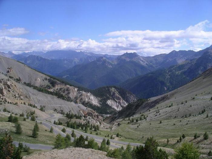 Day 33 Col d'Izoard view