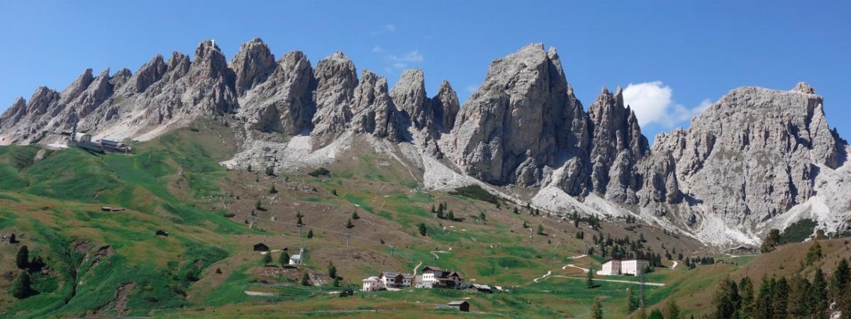 Pizes de Cir Panorama, Dolomites